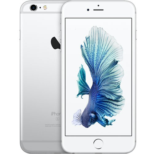 Apple iPhone 6s Plus 64GB Silver EU (Δώρο Tempered Glass + Θήκη) (Αγγλικός Φορτιστής + Αντάπτορας)