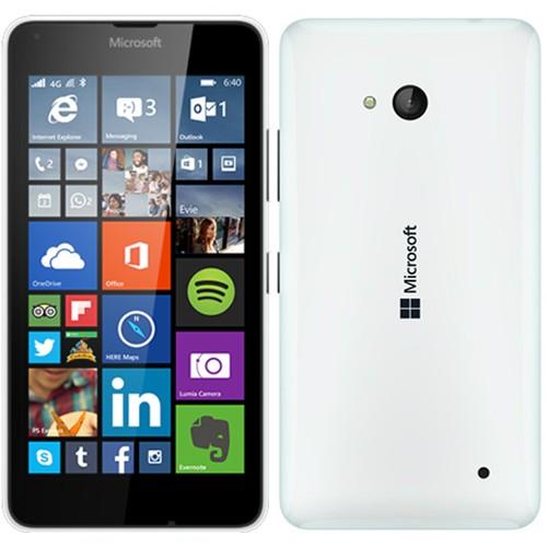 Microsoft Lumia 640 LTE White EU (Δώρο Tempered Glass + Θήκη)