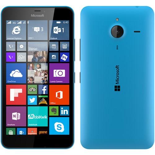 Microsoft Lumia 640 XL Dual Cyan EU (Δώρο Tempered Glass + Θήκη)