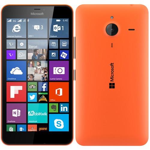 Microsoft Lumia 640 XL Dual Orange EU (Δώρο Tempered Glass + Θήκη)