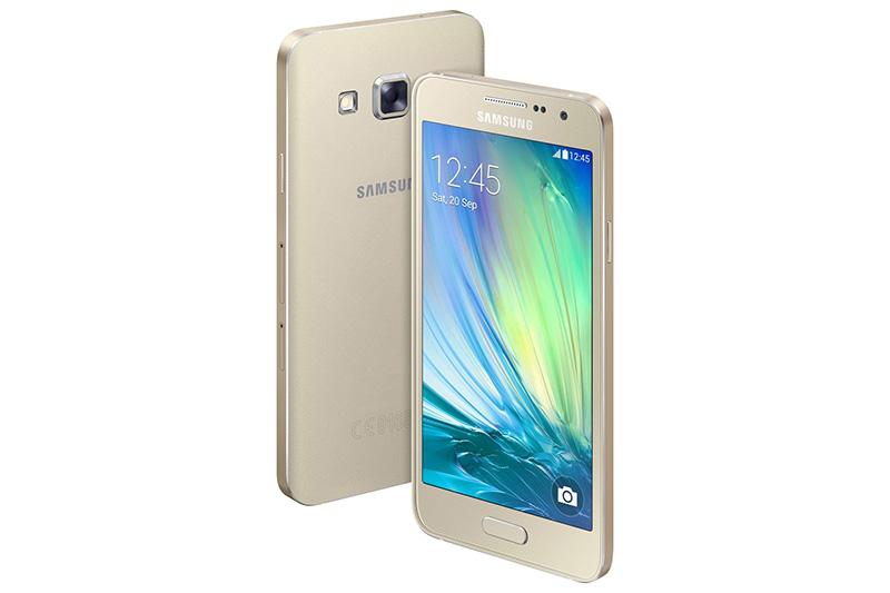 Samsung A300FU Galaxy A3 4G NFC 16GB Gold EU (Δώρο Tempered Glass + Θήκη)