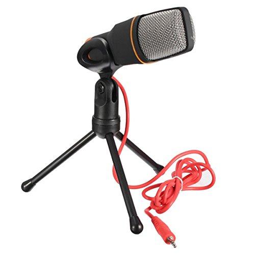 Πυκνωτικό Μικρόφωνο Ηχογραφήσεων με Τρίποδο για Υπολογιστή