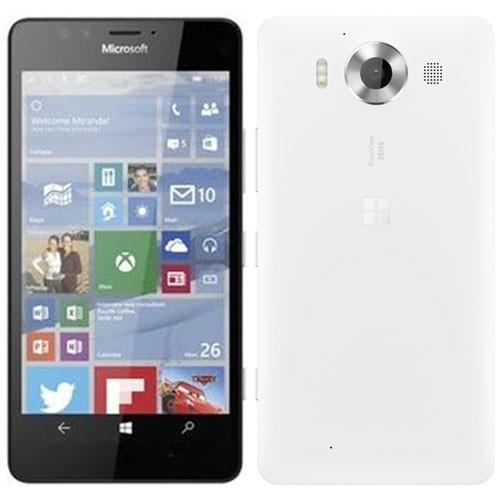 Microsoft Lumia 950 Dual 4G 32GB White EU  (Δώρο Tempered Glass)