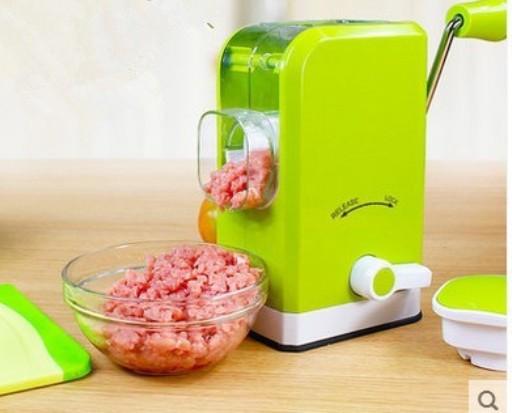 Χειροκίνητη Μηχανή Άλεσης Κρέατος & Λαχανικών Πράσινη