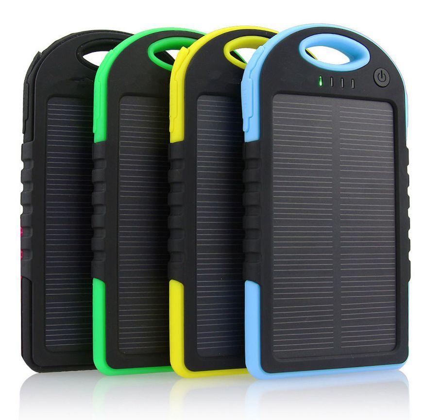 Ηλιακός φορτιστής συσκευών - Solar power bank 5000 mah
