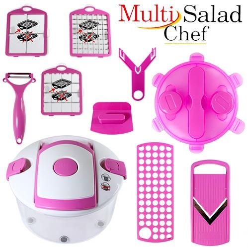 Πολυκόφτης και Δοχείο για Σαλάτες - Multi Salad Chef
