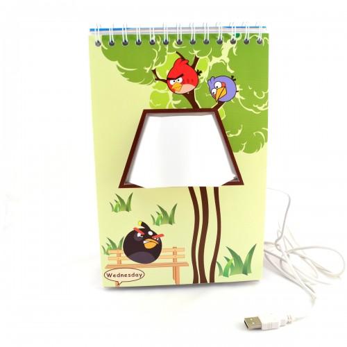 Φωτιστικό Page by Page Angry Birds