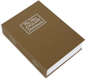 Χρηματοκιβώτιο  - Book Safe Καφέ 18 x 11,5 x 5.5 εκ