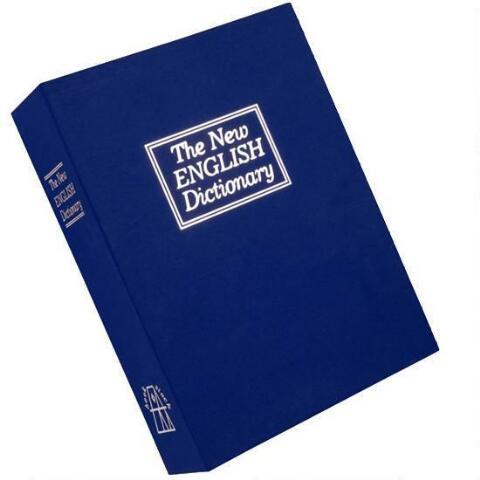Χρηματοκιβώτιο XL - Book Safe Μπλε