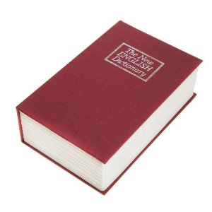 Χρηματοκιβώτιο XL - Book Safe Μπορντό