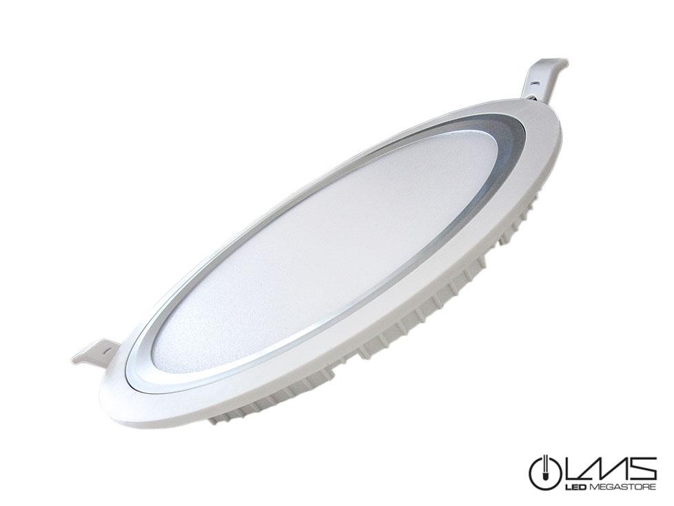 Φωτιστικό Πάνελ Οροφής Ledito Λευκό 19 Watt 85 - 265 Volt Λευκό Ημέρας