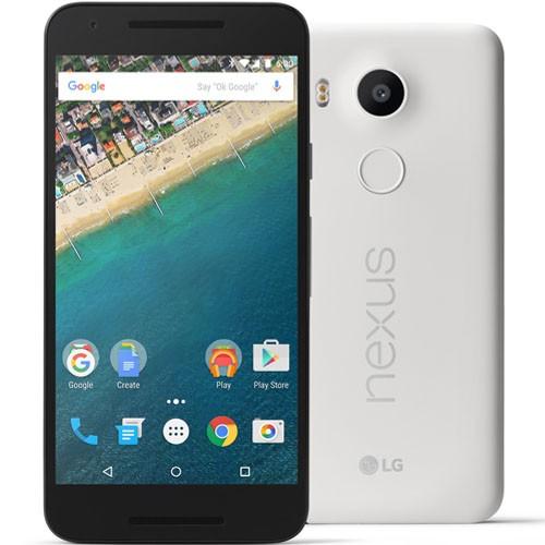 LG Nexus 5X H791 32GB Quartz White EU (Δώρο Tempered Glass + Θήκη)