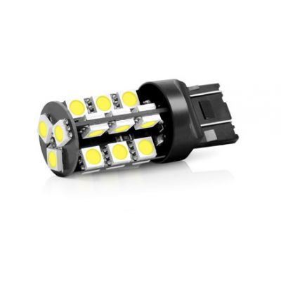 T20 7443 με 27 SMD Can Bus 5050 Ψυχρό Λευκό