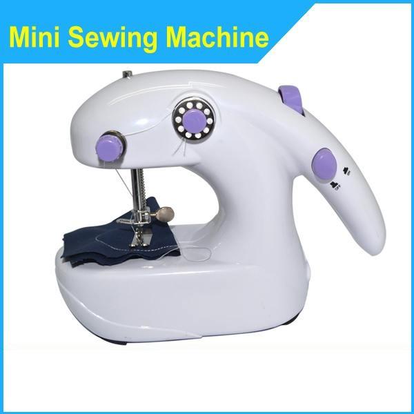 Φορητή ραπτομηχανή μπαταρίας Sewing machine 2in1
