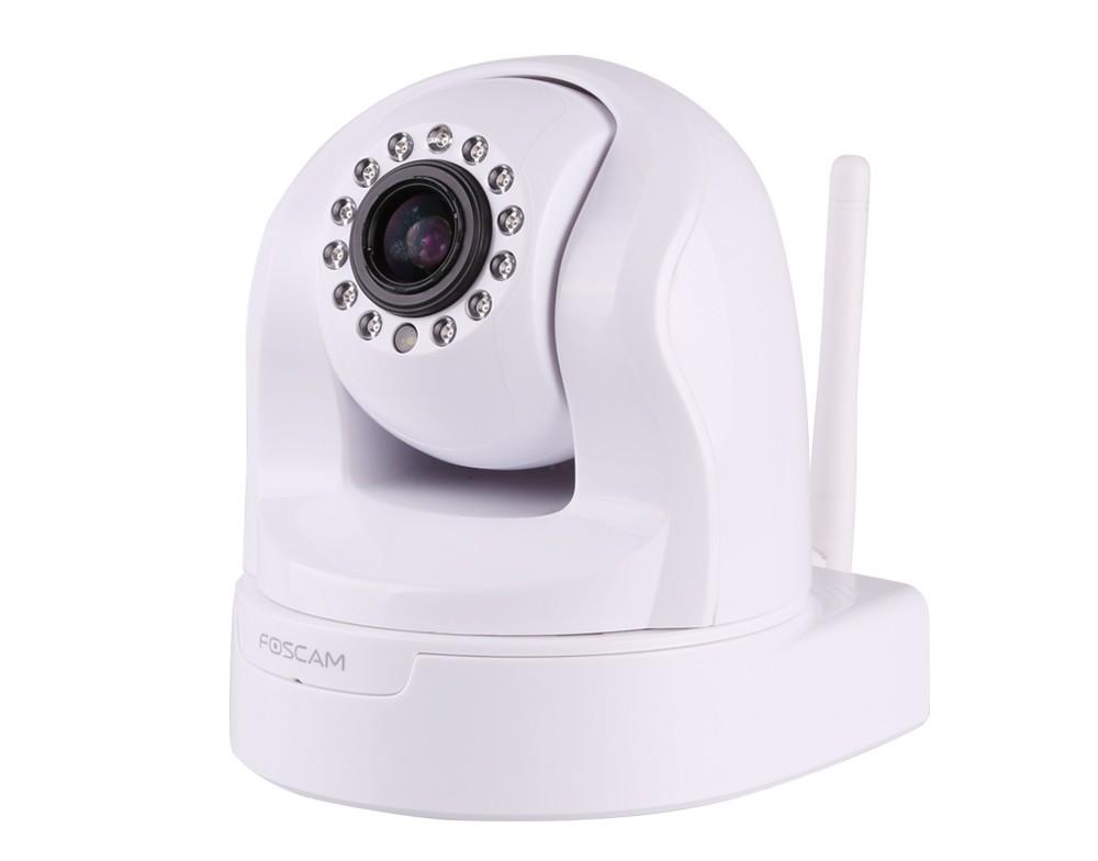 Foscam FI9826W: Έγχρωμη Ρομποτική IP κάμερα, HD 720p Λευκή