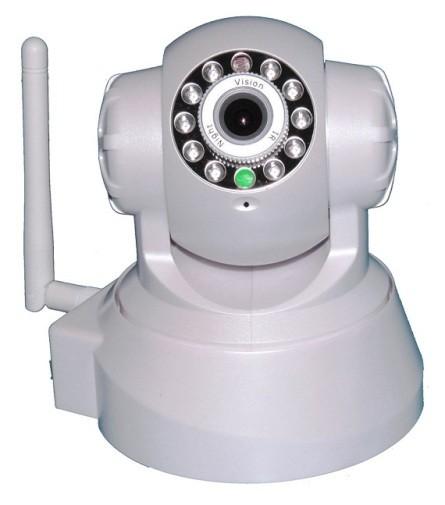 Bionics RoboCam 2: Έγχρωμη Ρομποτική IP Κάμερα Λευκή