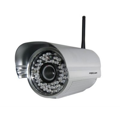 Foscam FI8905W: Αδιάβροχη Έγχρωμη IP Κάμερα Ασημί