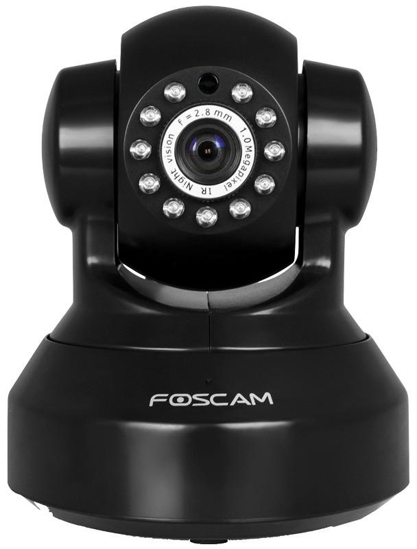 Foscam FI9816P Έγχρωμη Ρομποτική IP κάμερα, HD 720p Μαύρη