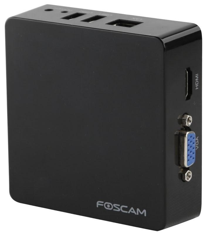 Foscam FN3004H white: Μικρό δικτυακό καταγραφικό NVR Μαύρο