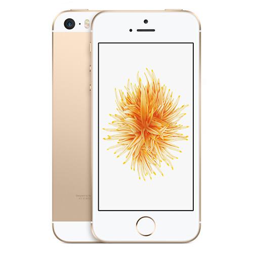 Apple iPhone SE 16GB Gold EU (Δώρο Tempered Glass + Θήκη)