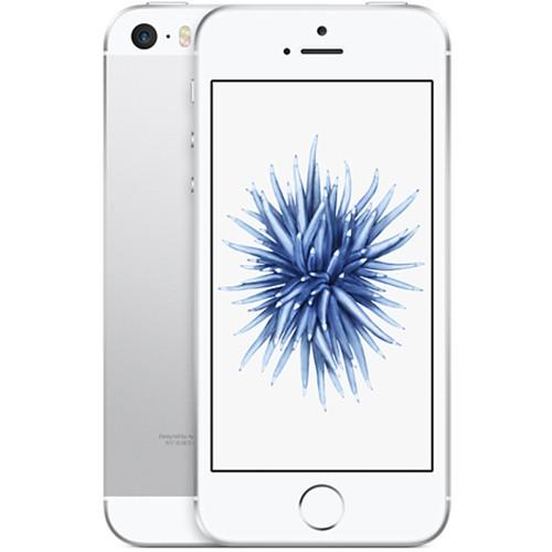Apple iPhone SE 16GB Silver EU (Δώρο Tempered Glass + Θήκη)