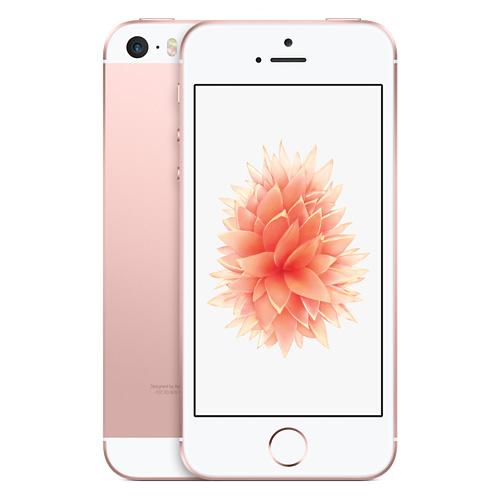Apple iPhone SE 16GB Rose Gold EU (Δώρο Tempered Glass + Θήκη)