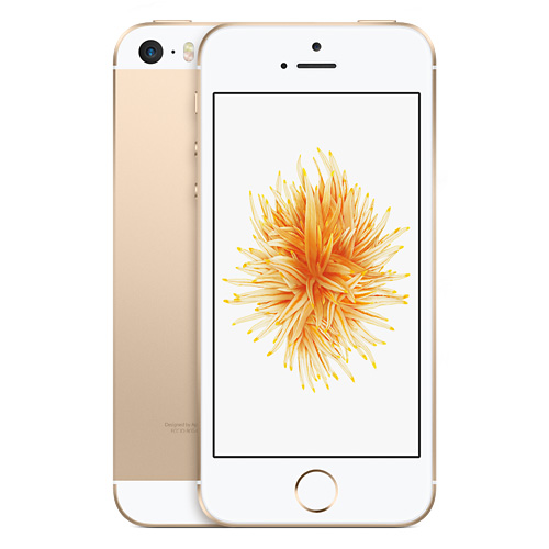 Apple iPhone SE 64GB Gold EU (Δώρο Tempered Glass + Θήκη) (Αγγλικός Φορτιστής + Αντάπτορας)