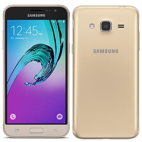 Samsung J3 2016 J320F 8GB Gold EU (Δώρο Tempered Glass + Θήκη)