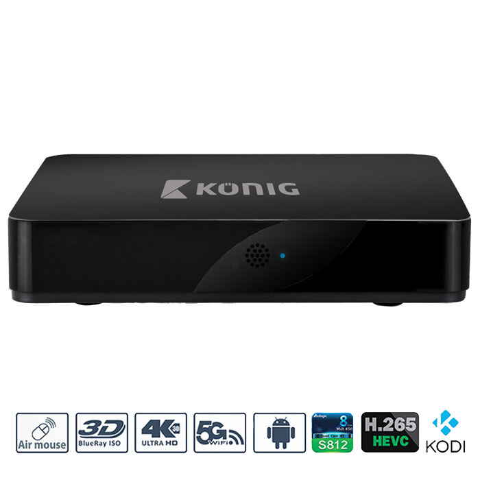 Konig KN-4KASB 4K 3D Android Tv Box