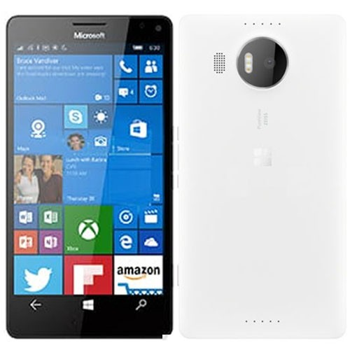 Microsoft Lumia 950 XL Dual 4G 32GB White EU  (Δώρο Tempered Glass + Θήκη)