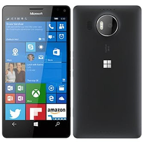 Microsoft Lumia 950 XL Dual 4G 32GB Black EU (Δώρο Tempered Glass + Θήκη)
