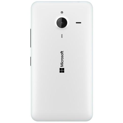 Microsoft Lumia 640 XL Dual White EU (Δώρο Tempered Glass + Θήκη)