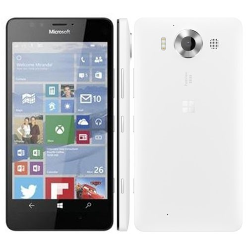 Microsoft Lumia 950 4G 32GB White EU (Δώρο Tempered Glass)