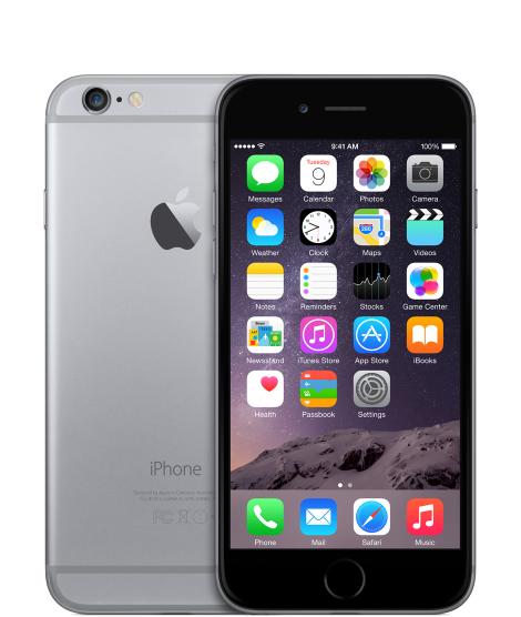 Apple iPhone 6 16GB Space Grey EU (Δώρο Tempered Glass + Θήκη)