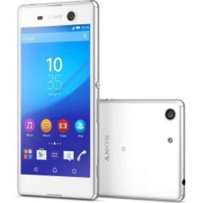 Sony Xperia M5 E5603 16GB White EU  (Δώρο Tempered Glass + Θήκη)
