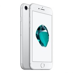 Apple iPhone 7 128GB Silver EU (Δώρο Tempered Glass Full Cover + Θήκη)