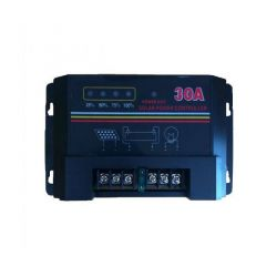 Ρυθμιστής Φόρτισης Μπαταριών για Φωτοβολταϊκά Συστήματα 30Α - 12V OEM 3012
