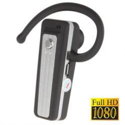 Full HD Κάμερα με Μορφή Ακουστικού Bluetooth
