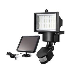 Ηλιακός Προβολέας 100 LED και Ανιχνευτή Κίνησης - Solar Security Light ΟΕΜ 812