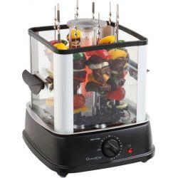 Ηλεκτρική Κάθετη Ψησταριά - Barbeque 800W για 10 σουβλάκια σε Μαύρο χρώμα, DomoClip DOC154