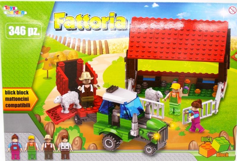 Παιχνίδι κατασκευών φάρμα 346 κομμάτια OEM1476