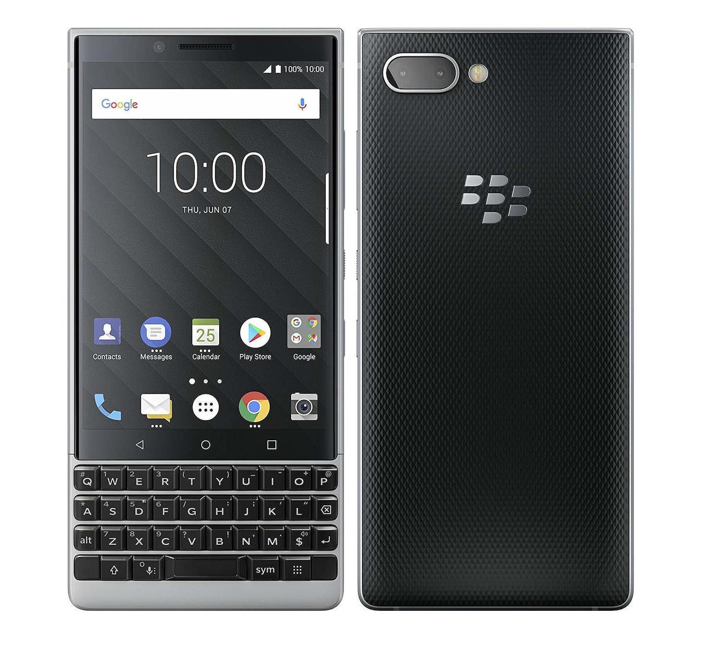 Blackberry Key2 Dual 64GB Silver Πληρωμή έως 24 δόσεις