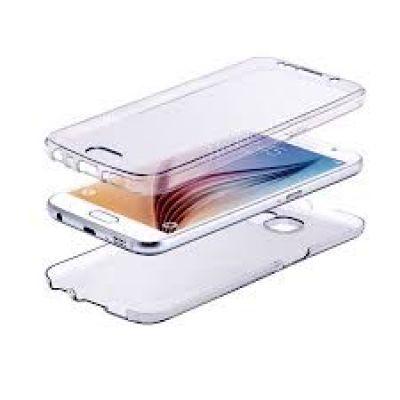 Θήκη σιλικόνης διάφανη για Motorola Moto G4 Front - Back OEM