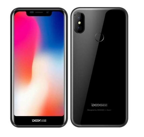 Doogee X70 Dual 16B Dual Black EU