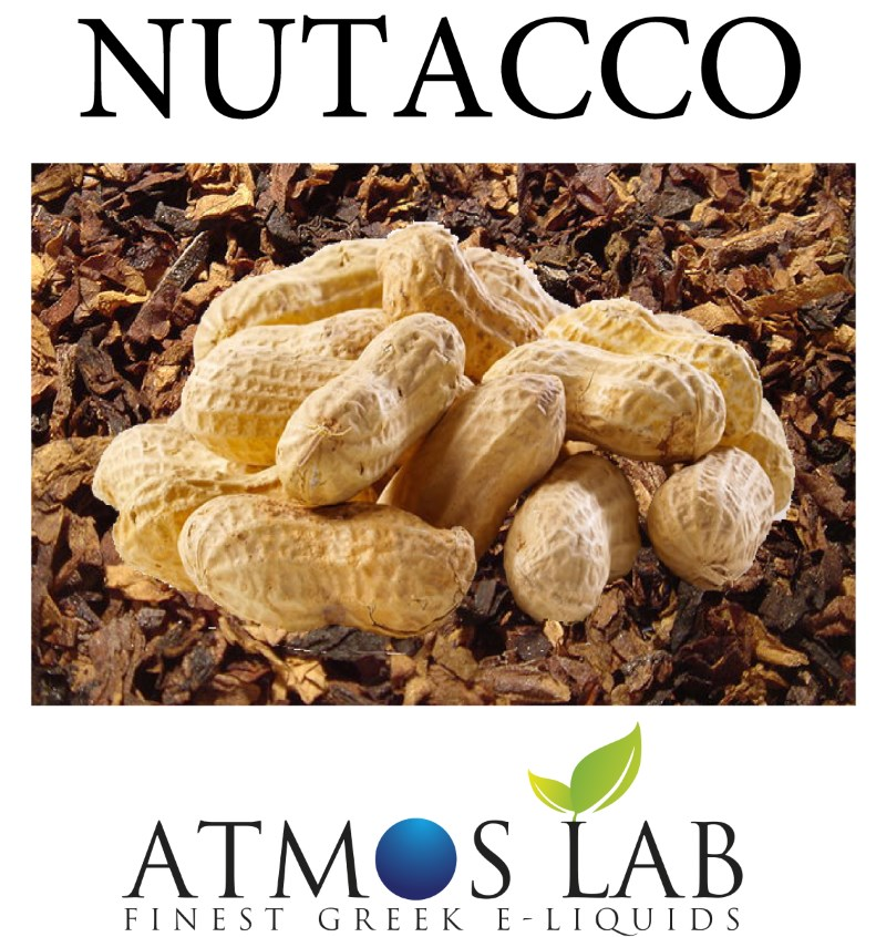 ATMOS LAB υγρό ατμίσματος Nutacco, Balanced, 0mg νικοτίνη, 10ml - ATMOS LAB 14245