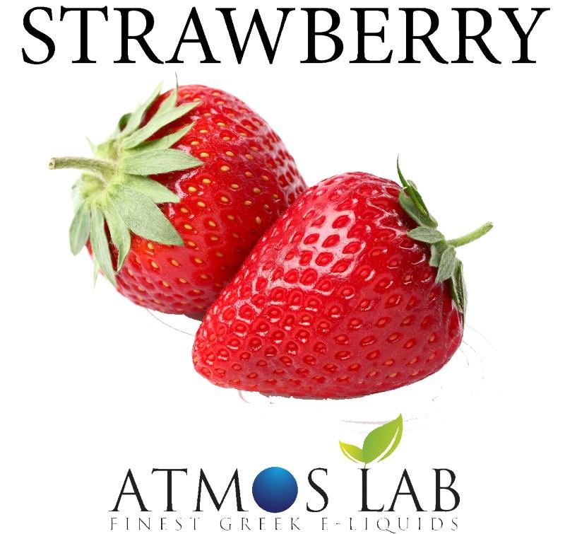 ATMOS LAB υγρό ατμίσματος Strawberry, Balanced, 0mg νικοτίνη, 10ml - ATMOS LAB 14255