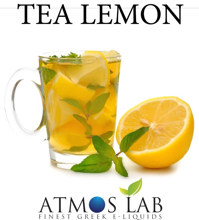 ATMOS LAB υγρό ατμίσματος Lemon Tea, Balanced, 0mg νικοτίνη, 10ml - ATMOS LAB 14260