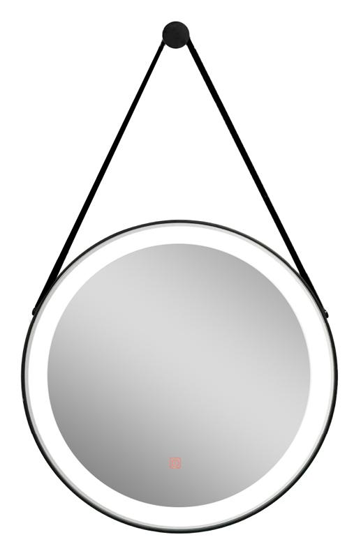 RAVENNA καθρέπτης μπάνιου LED Hilton Hanging, 7.5W, Φ60, μαύρος - UNBRANDED 35971