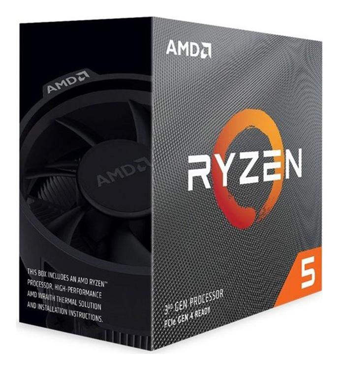 AMD CPU Ryzen 5 3600, 3.6GHz, 6 Cores, AM4, 35MB, Wraith Stealth cooler - AMD 27609