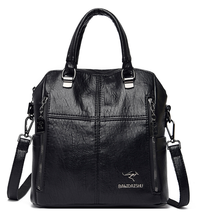 BALIDAISHU γυναικεία τσάντα ώμου 1316-BLACK, μαύρη - BALIDAISHU 40195
